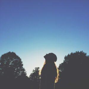 light-sky-people-woman