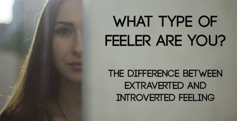 The Difference Between Extraverted and Introverted Feeling (Fe or Fi)