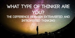 Extraverted and Introverted Thinking