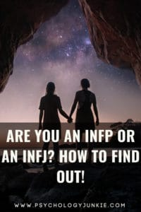 Can't decide whether you're an INFJ or an INFP? Get some help sorting out which one fits you! #MBTI #INFJ #INFP
