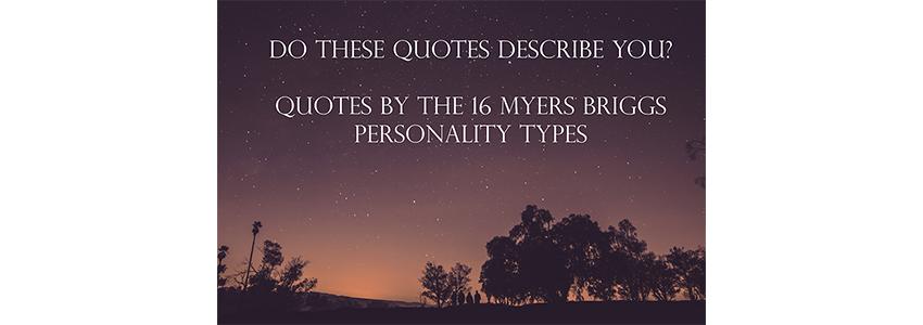 MBTI Quotes