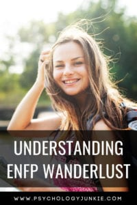 A look at why #ENFPs have such unquenchable wanderlust! #ENFP #MBTI #Myersbriggs #personality