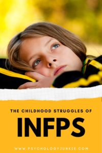 Get an in-depth look at the unique struggles of the #INFP child! #MBTI #Personality