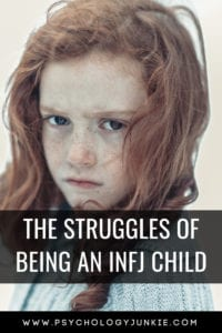 Discover the unique struggles of the #INFJ child! #MBTI #Myersbriggs #personality #personalitytype