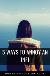 5 things you should NEVER do to an #INFJ. #Personality #personalitytype #MBTI #Myersbriggs