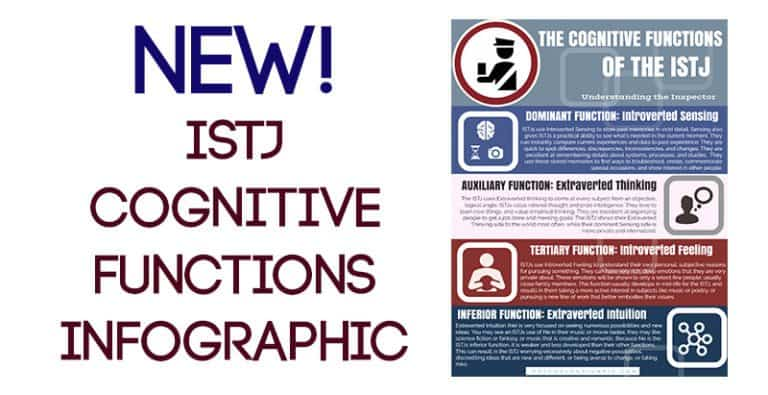 New! ISTJ Cognitive Functions Infographic
