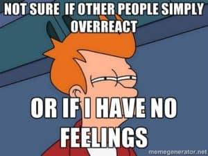 Over-feeling