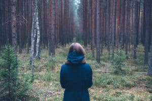 alone-in-forest