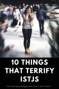 Discover the things that cause #ISTJs a great sense of fear. #ISTJ #MBTI #Personality