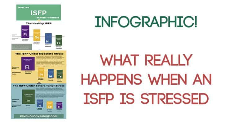 New Infographic! What Really Happens When An ISFP Is Stressed!
