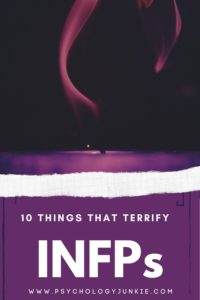 Discover the ten things that deeply scare INFPs. #MBTI #Personality #INFP