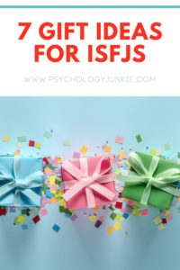 Not sure what to get an #ISFJ for their birthday, Christmas, or Valentines Day? Find out in this article! #ISFJ #MBTI #Personality