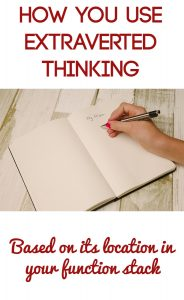 Extraverted Thinking Te