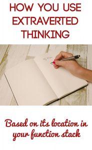 Extraverted Thinking Te