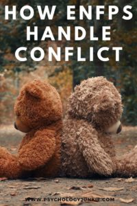 Get an in-depth perspective of how ENFPs handle conflict. #ENFP #MBTI #Personality