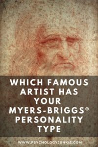 Discover which artist has your Myers-Briggs® personality type. #MBTI #Personality #INFJ #INFP