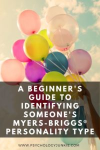 Get some quick and easy tips for identifying someone's personality type! #MBTI #Personality #INFJ