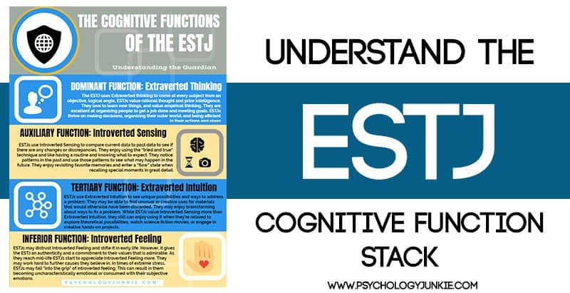 Get a look at the #ESTJ cognitive functions!
