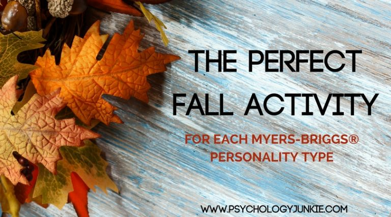 The Perfect Fall Activity for Each Myers-Briggs® Personality Type
