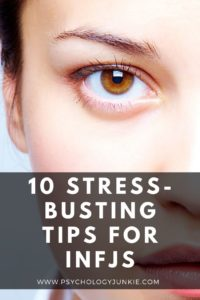 Get an in-depth look at how to relieve stress as an #INFJ personality type. #MBTI #Personality