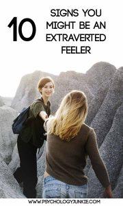 10 Signs You Might Be An Extraverted Feeler #ENFJ #ESFJ #INFJ #ISFJ