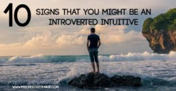 10 Signs That You Are an Introverted Intuitive Personality Type! #INFJ #INTJ #ENFJ #ENTJ #MBTI