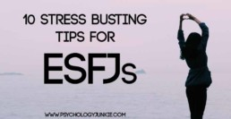 10 Stress Busting Tips for #ESFJs!
