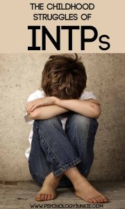 Discover the childhood struggles of the #INTP