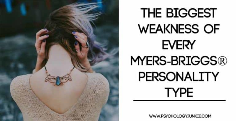 The Biggest Weakness of Every Myers-Briggs® Personality Type