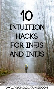 Intuition hacks for #INTJs and #INFJs! #MBTI