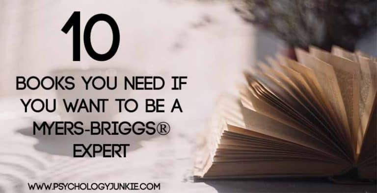 10 Books You Need if You Want to be a Myers-Briggs® Expert