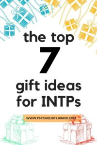 Get a look at the kinds of gifts #INTPs really want! #INTP #MBTI #Personality