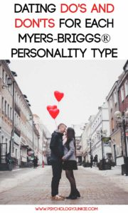Dating Do's and Don'ts for Each Myers-Briggs® Personality