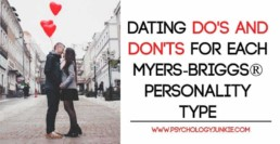 Dating tips for each #MBTI type