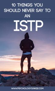 What should you never say to an #ISTP? Find out!