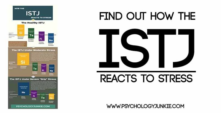 How the ISTJ Reacts to Stress (Infographic)