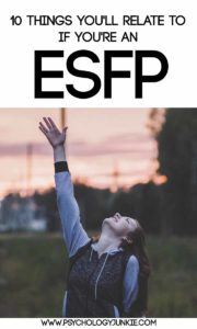 #ESFP fun facts! #MBTI