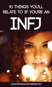 #INFJ fun facts! #MBTI