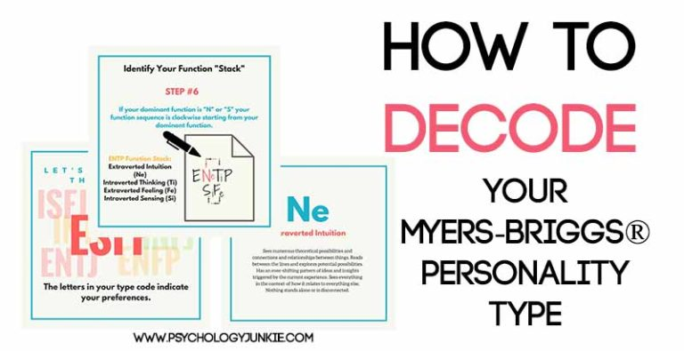 Decoding Your Myers-Briggs® Personality Type