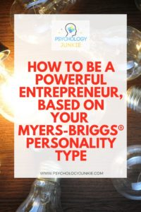 Find out the unique skill that each Myers-Briggs® personality type can bring to entrepreneurship. #MBTI #INFJ #INTJ #INFP