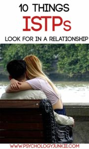 What #ISTPs really want in a relationship! #MBTI