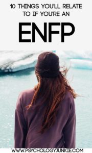 #ENFP fun facts! #MBTI