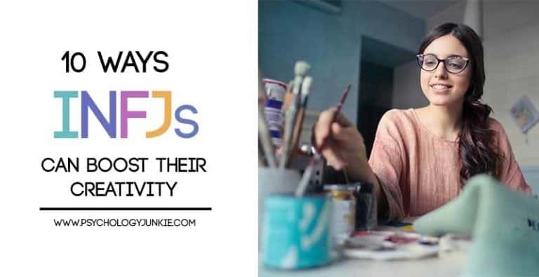 10 Ways INFJs Can Boost Their Creativity