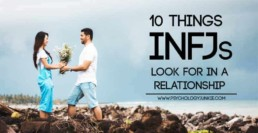 What do #INFJs want in a relationship? Find out! #MBTI #personality
