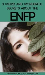 3 weird and wonderful #ENFP secrets! #MBTI