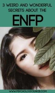 3 weird and wonderful #ENFP secrets! #MBTI