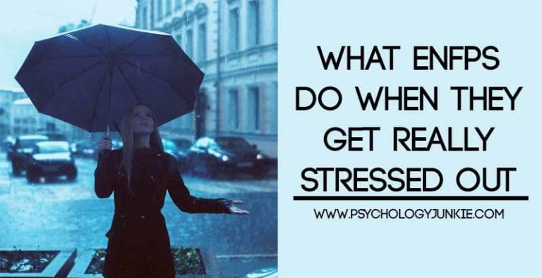 What ENFPs Do When They Get Really Stressed Out