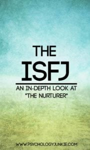 An in-depth look at the #IFSJ personality type! #MBTI #Personality