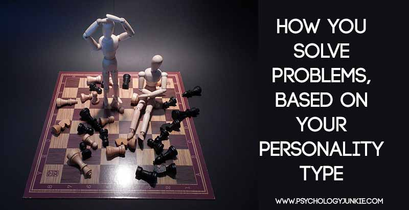 Find out how each #personality type solves problems! #MBTI #INFJ #INTJ #INFP #INTP #ENFJ #ENFP #ISTJ #ISFJ