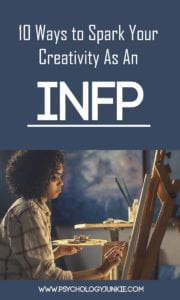 10 Ways for #INFPs to Spark #Creativity! #MBTI #personality